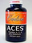 Carlson Labs ACES Antioxidant 200 gels