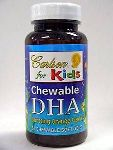 Carlson Labs Carlson/Kids Chewable DHA Orange 60 gels