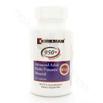 Kirkman Group Inc. Advanced Adult Multi-Vitamin/Mineral 180c - Hypoallergenic