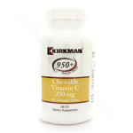 Kirkman Group Inc. Chewable Vitamin C 250mg 250t