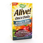 Nature's Way  Alive! Once Daily Men's 50+ Multi 60t (Ultra Potency)