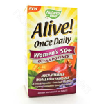 Nature's Way  Alive! Once Daily Women's 50+ Multi 60t (Ultra Potency)