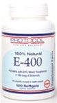 Protocol For Life Balance100% Natural E-400 120sg
