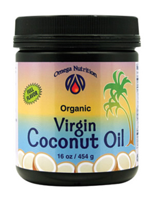 Omega nutrition coconut oil