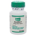 BHI Allergy by BHI Homeopathics/Medinatura 100 Tablets