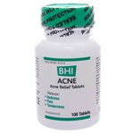 BHI Acne by BHI Homeopathics/Medinatura 100 Tablets