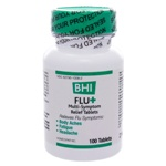 BHI Flu + by BHI Homeopathics/Medinatura 100 Tablets