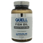 Douglas Labs QUELL Fish Oil Clinical Strength DHA 60 Capsules