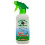Greenerways Organic Bug Repellent Spray USDA Certified 100% Organic 16 Ounces