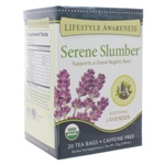 Serene Slumber by Lifestyle Awareness Teas 20 Tea Bags