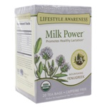 Milk Power by Lifestyle Awareness Teas 20 Tea Bags