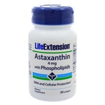 Life Extension Astaxanthin with Phospholipids 4mg 30 Softgels