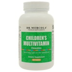 Dr. Mercola Premium Products Childrens Chewable Multivitamins 60 Tablets