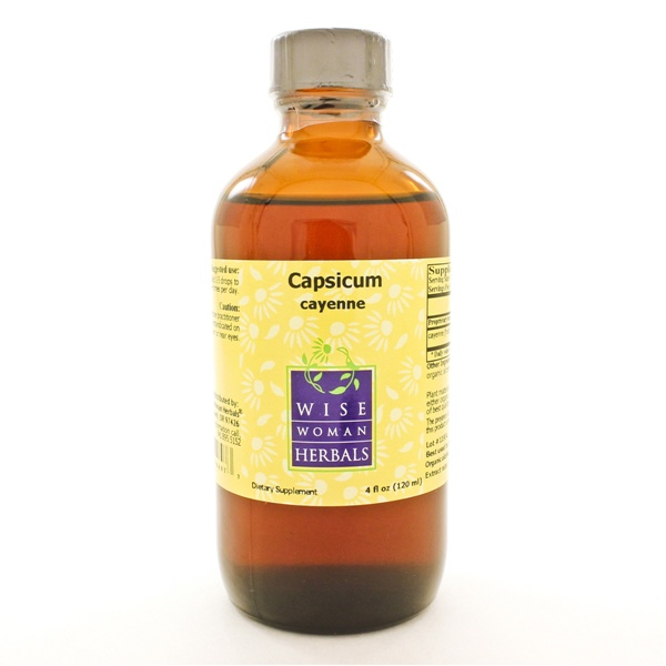 Wise Woman Herbals Capsicum annuum - cayenne 4 Ounces