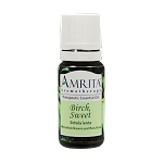 Amrita Aromatherapy Birch Sweet Essential Oil 1/3 oz