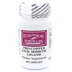 Ecological Formulas/Cardio Research Pro-Copper S.O.D.  60c