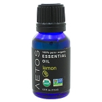 Lemon Essential OilOrganic by Aetos Essential Oils 15 Milliliters
