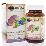 Mykind Organics Womens Once Daily Multi by Garden of Life 60 Tablets