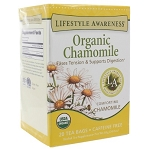 Organic Chamomile by Lifestyle Awareness Teas 20 Tea Bags