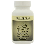 Fermented Black Garlic by Dr. Mercola Premium Products 60 Capsules