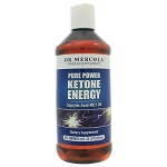 Ketone Energy MCT Oil by Dr. Mercola Premium Products 16 Ounces