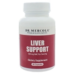 Liver Support by Dr. Mercola Premium Products 60 Capsules