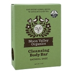 Cleansing Body Bar Oatmeal Sage by Moon Valley Organics