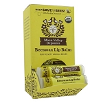 Beeswax Lip Balm Velvety Vanilla by Moon Valley Organics 1 Lip Balm