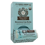 Beeswax Lip Balm Cool Mint Vanilla by Moon Valley Organics 1 Lip Balm