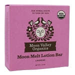 Moon Melt Lotion Bar Lavender by Moon Valley Organics 1.9oz