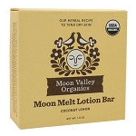 Moon Melt Lotion Bar Coconut Lemon by Moon Valley Organics 1.9oz