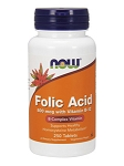 NOW Folic Acid 800 mcg 250 tabs
