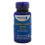 Alpha Lipoic Acid 600mg by Patient One MediNutritionals 60 Capsules