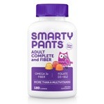 SmartyPants Vitamins Adult Complete Plus Fiber 180 Gummies