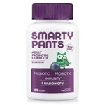 SmartyPants Vitamins Adult ProBioticComplete Blueberry 60 Gummies