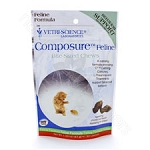 Vetri-Science Laboratories Composure Feline 30 Bite-Sized Chews