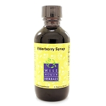 Wise Woman Herbals - Elderberry Syrup/Sambucus nigra 2oz