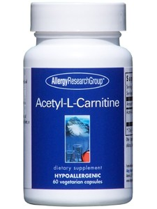 Allergy Research Group Acetyl-L-Carnitine 250 mg 60 vcaps