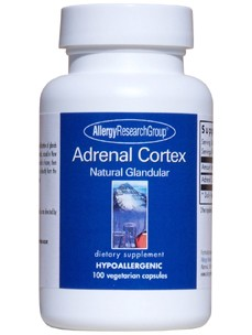Allergy Research Group Adrenal Cortex 250 mg 100 vcaps