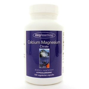 Allergy Research Group Calcium/Magnesium Citrate 100c