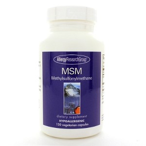 Allergy Research Group MSM 500mg 150c
