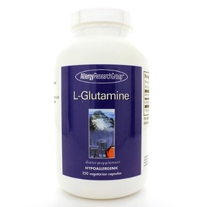 Allergy Research Group L-Glutamine 800mg 250c