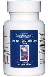 Allergy Research Group Acetyl-Glutathione 60t