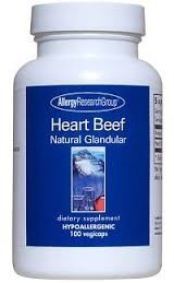 Allergy Research Group Heart Beef Natural Glandular 100c