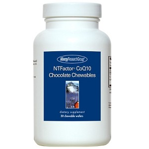 Allergy Research GroupNTFactor CoQ10 Chocolate Chewables30 Chewables