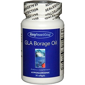 Allergy Research Group GLA Borage Oil 30 gels