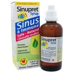 Sinupret Syrup For Kids 3.38oz/100ml