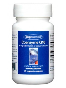 Allergy Research Group Coenzyme Q10 30 mg 30 vcaps