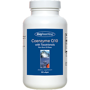 Allergy Research Group Coenzyme Q10with Tocotrienols 200 gels