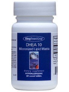 Allergy Research Group DHEA 10 mg 60 tabs